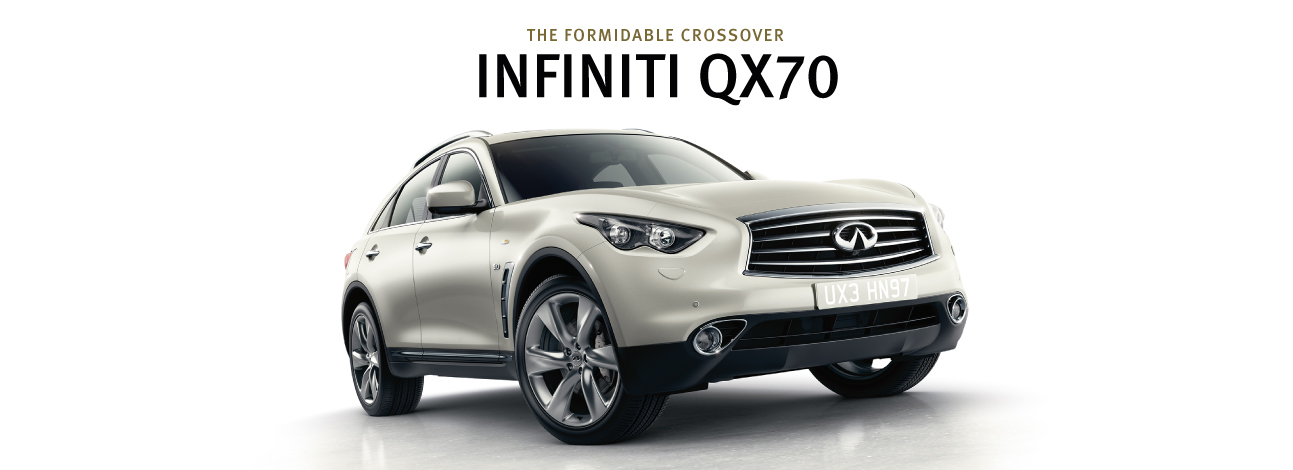 Infiniti QX70 New Page Banner