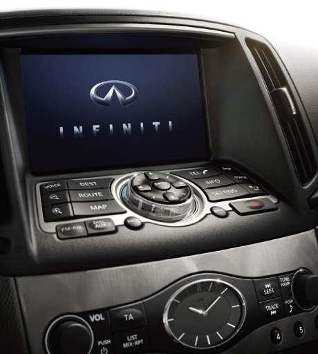 Q60 Sat Nav Screen