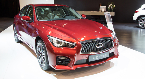 Infiniti Sets New Global Sales Record For January