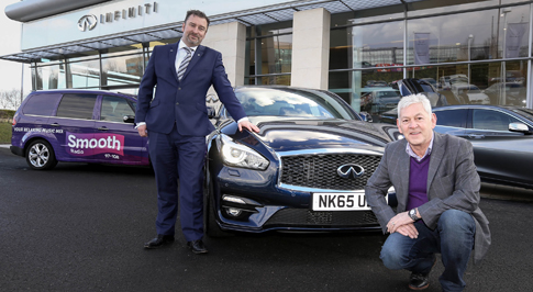Lucky radio listener wins luxury driving experience