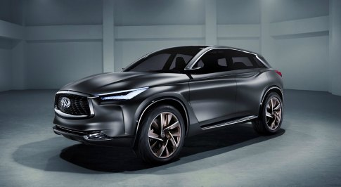 INFINITI QX Sport Inspiration: The Evolution of a Concept