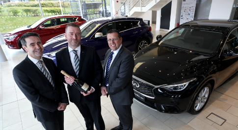 Infiniti Newcastle takes best customer experience award
