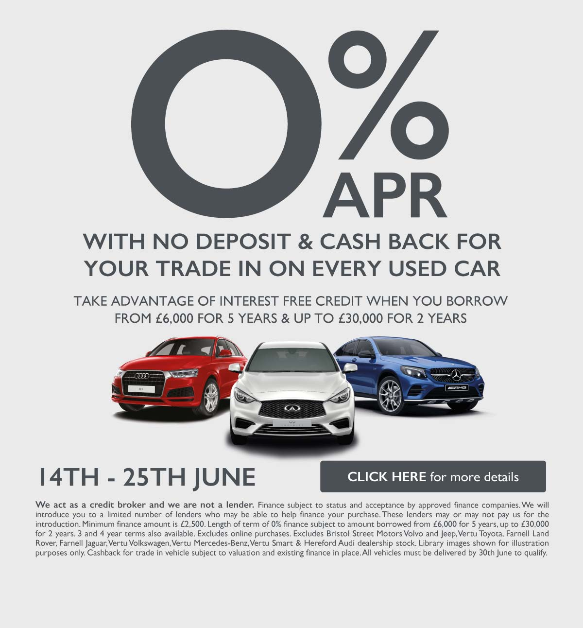 0% Used Van Event June 2019 - Vertu Specialist Cars