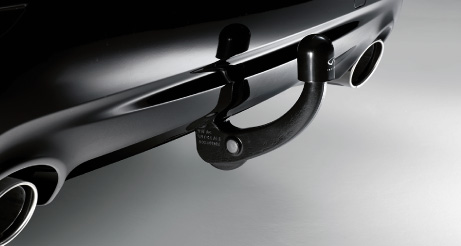 QX50 Tow Bar Close Up