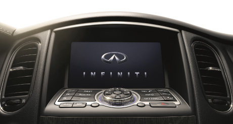 QX50 Navigation Screen