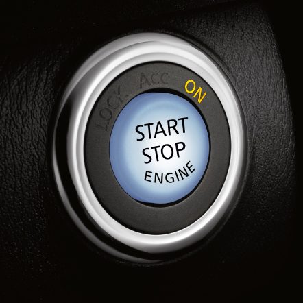 QX50 Start Stop Button