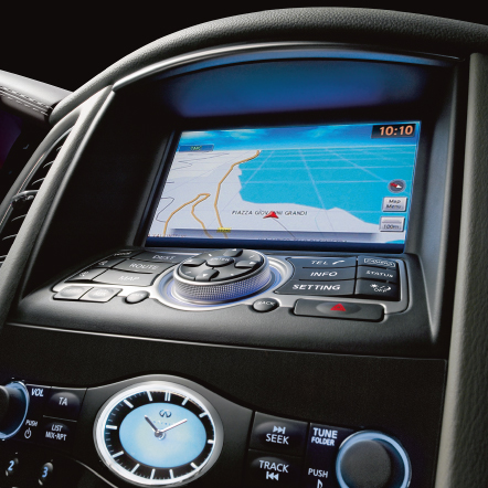 QX50 Sat Nav Screen
