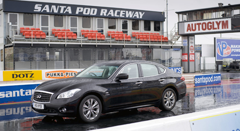 Infiniti holds first place as world's fastest full hybrid