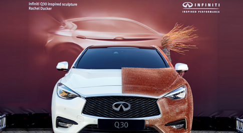 "Infiniti Exhibits ""Car-Art"" at Westfield London"