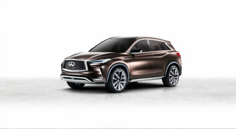 Infiniti Reveals QX50 Concept in Detroit