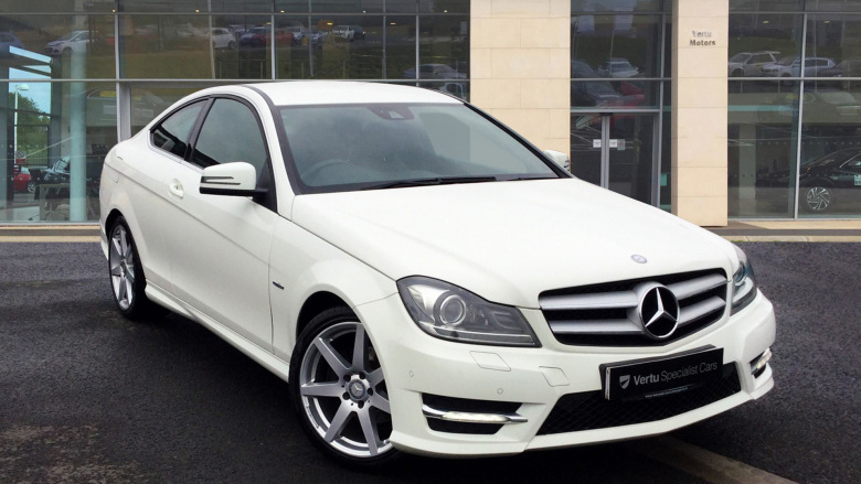Mercedes-Benz C-Class C180 BlueEFFICIENCY AMG Sport 2dr Petrol Coupe