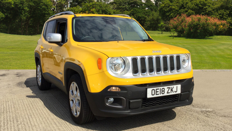 Jeep Renegade 1.4 Multiair Limited 5dr Petrol Hatchback
