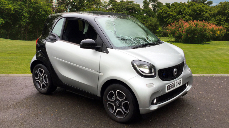 Smart EQ fortwo coupe 60kW EQ Prime Prem Plus 17kWh 2dr Auto [22kWCh] Electric Coupe
